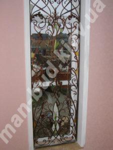 Кованые решетки на окна фото №83