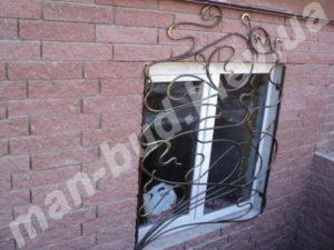 Кованые решетки на окна фото №8