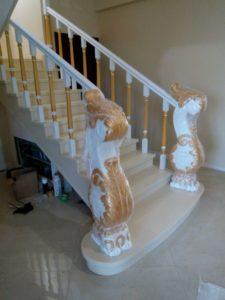 Резные лестницы, фото №3
