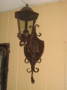Кованые светильники фото №14