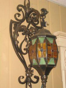 Кованые светильники фото №8