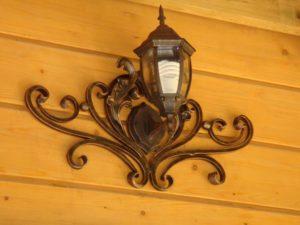 Кованые светильники фото №18