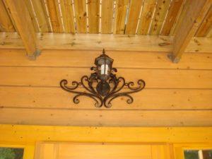 Кованые светильники фото №19
