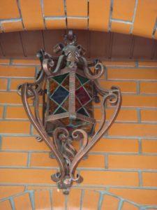 Кованые светильники фото №20