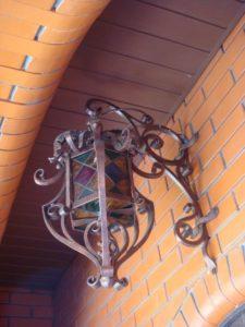 Кованые светильники фото №21