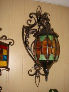 Кованые светильники фото №13