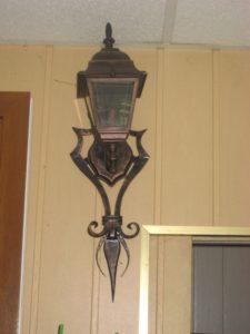 Кованые светильники фото №3