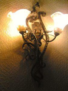 Кованые светильники фото №5