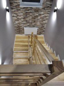 Деревянные лестницы, фото №6