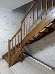 Лестница в квартире, фото №1э