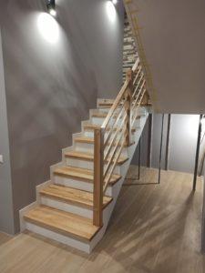 Лестница в квартире, фото №10
