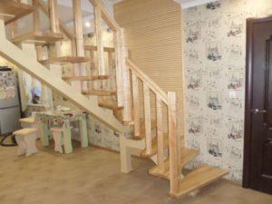 Лестница в квартире, фото №18