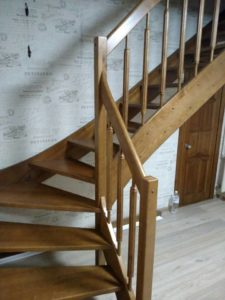 Лестница в квартире, фото №2