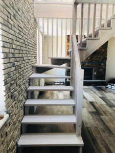 Лестница в квартире, фото №8