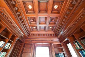 Кессоный потолок
