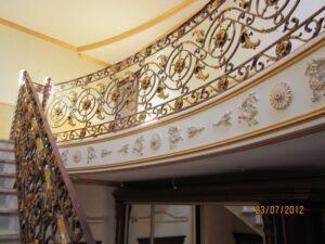 Кованые перила в стиле барокко №9