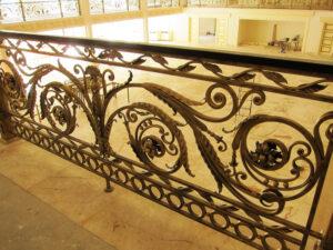 Кованые перила в стиле барокко №10