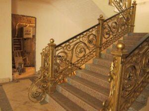 Кованые перила в стиле барокко №11