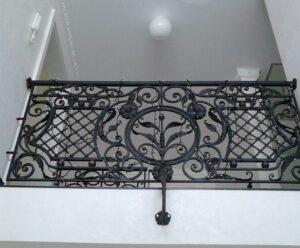 Кованые перила в стиле барокко №14
