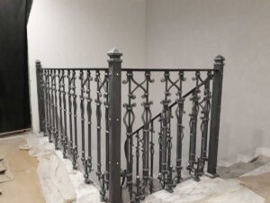 Кованые балясины для лестниц №4
