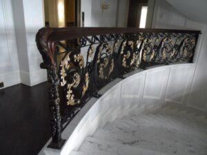 Кованые перила в стиле барокко №19