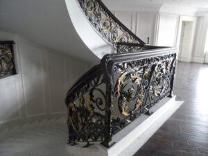 Кованые перила в стиле барокко №16