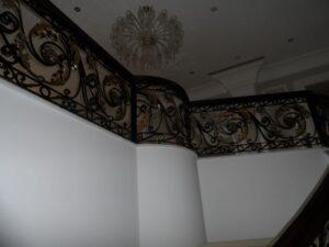Кованые перила в стиле барокко №20
