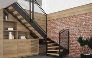 Лестница на металлических тетивах, фото №8