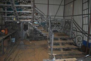 Изготовление лестницы