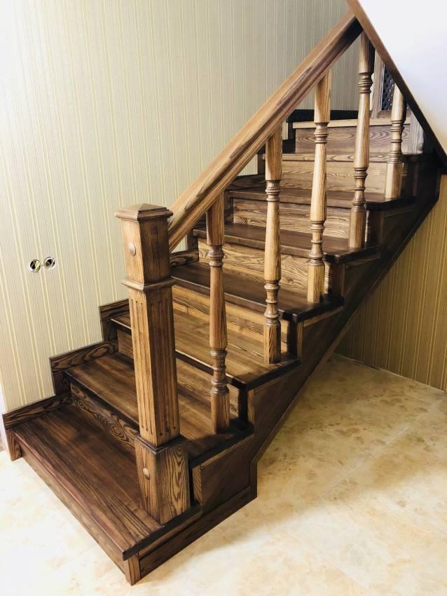 Деревянная лестница №2