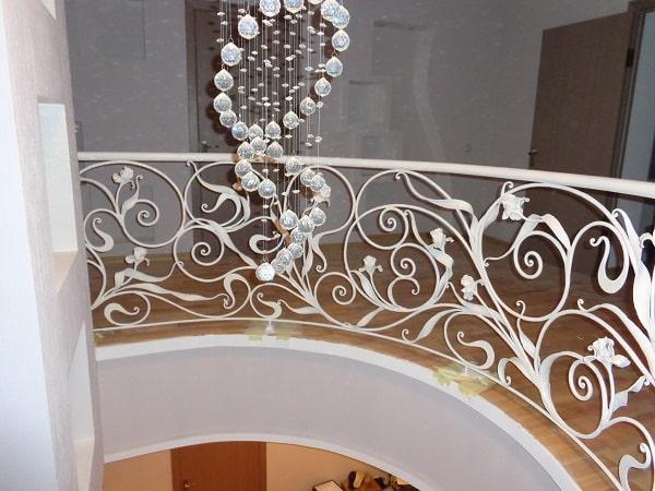 Перила для лестницы, кованые перила на лестницу арт.1.0